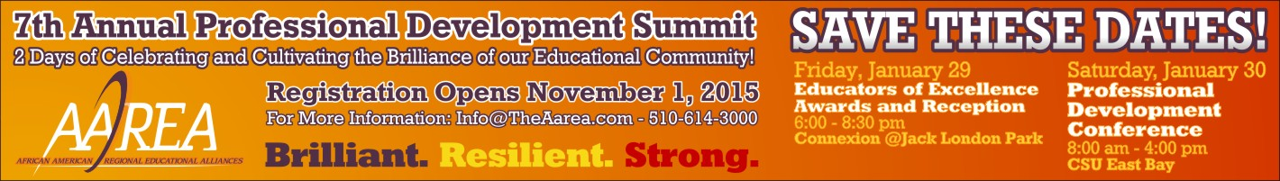 Click to register online for the 7th AAREA Professional Development Summit on January 29-30 2016